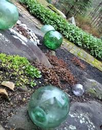 large decorative glass balls unique display ideas for inside and