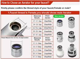 aerator kitchen faucet factory brass m22 kitchen faucet aerator chrome plated