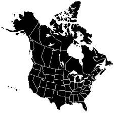 Blank Map Of North America by Canada Map Clipart