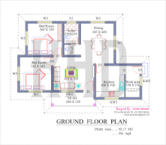 Modern House Floor Plans Free by 800 Sq Ft Kerala House Plans Designs Indian Home Design Free House