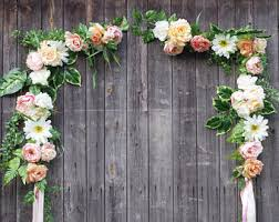 wedding flowers decoration 13 ft xl wedding flower arch white and floral swag