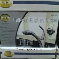 costco kitchen faucet costco price cut water ridge brushed nickel pull out kitchen