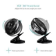 mini ventilateur de bureau homasy mini ventilateur usb portable de bureau alimenté par usb et