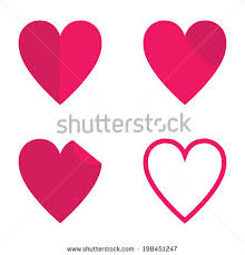 hearts and kitchen collection shape stock images royalty free images vectors