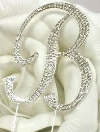Monogram Letter B Amazon Com Large Rhinestone Silver Letter B Crystal Monogram
