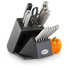 14 pc cuisinart knife block set 194035 kitchen knives at