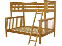 Twin Over Full Bunk Bed With Stairs Bedroom Glossy Teak Wood Twin Over Full Bunk Bed With Stairs With