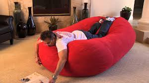 Oversize Bean Bag Chairs The Larson 8 Foot Bean Bag Bed Youtube