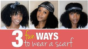 natural styles that you can wear in the winter natural hairstyles with scarves hair
