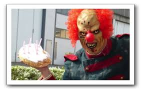 happy birthday creepy clown scary evil clown stalking for your birthday emergent chaos