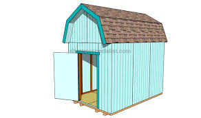 Gambrel Style Roof How To Build A Gambrel Roof Shed Howtospecialist How To Build