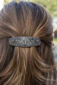 barrette hair hair clip barrette hair accessory world tree oberon design