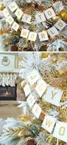 Christmas Decorations White And Gold by 17 Diy White Christmas Decorations U0026 Ideas Diybuddy