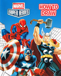 spiderfan org comics marvel super heroes draw