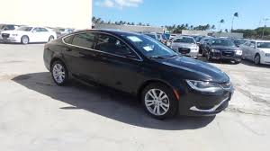 dodge jeep 2015 pre owned 2015 chrysler 200 limited 4dr car in honolulu w9897