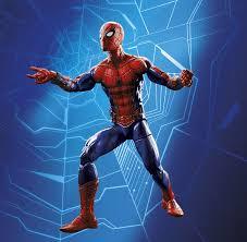 spider man homecoming marvel legends revealed
