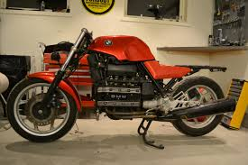 bmw bobber build der rote baron bmw k100 cafe racer