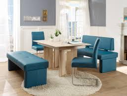 Esszimmertisch Blau Sitzgruppe Eiche Sonoma Tisch Joel Bank Dorian Schwinger