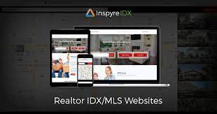 real estate idx mls websites lead capture crm inspyreidx