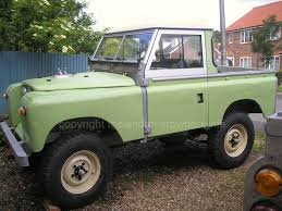 green land rover series 2 the land rover owners wife