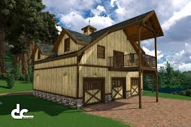 outdoor pole barns with living quarters garages with living