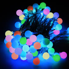 rgb globe lights string