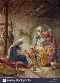 the wise men visit the baby jesus u0027and they came into the house
