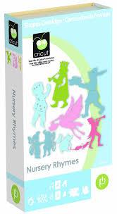 cricut cartridge nursery rhymes