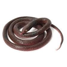 120cm soft rubber lifelike snake toy snake party bag filler