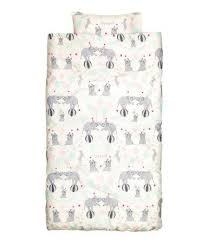 Childrens Duvet Cover Sets Elephants Childrens Duvet Cover Set