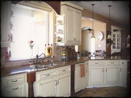 Pictures Of Country Kitchens With White Cabinets Decoration Country Kitchen White Granite Built In Oven