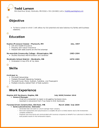 resume exles objectives retail objective for resume resume for study