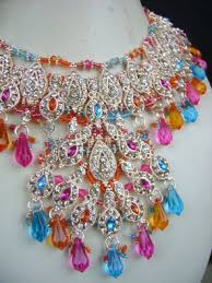 coloured stone necklace images Send artificial jewellery to india send jewellery set to india jpg