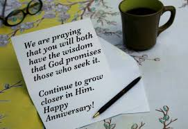 Anniversary Wishes To Daughter And Christian Anniversary Wishes And Card Verses Holidappy