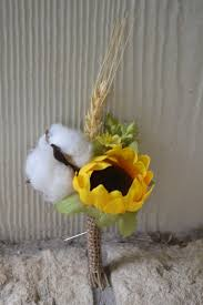 wedding flowers hull my day bouquet sunflower bud cotton hull and oat wheat