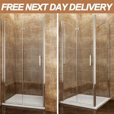 900 Bifold Shower Door by 900mm Bifold Shower Doors Ebay