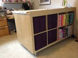 sewing cutting table ikea expedit sewing crafting cutting table ikea hackers ikea hackers