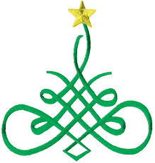 fancy christmas fancy christmas tree embroidery design annthegran