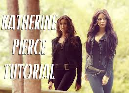 the vampire diaries katherine pierce makeup u0026 hair tutorial