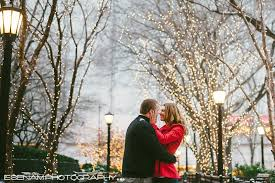 wedding photographers chicago winter engagement pictures in chicago with daniel