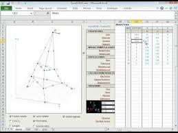 turan babacan u0027s excel beam analysis worksheet youtube