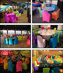 table n chair rentals spandex products for absolutely fabulous events and productions