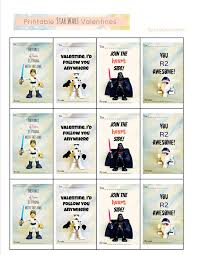 wars valentines day freshly completed printable wars valentines
