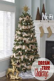 pine cone bow ornament and other dream tree challenge details