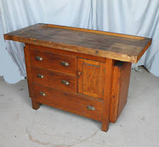 Jewellers Bench For Sale Antique Workbench Ebay