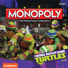 monopoly teenage mutant ninja turtles edition monopoly usaopoly