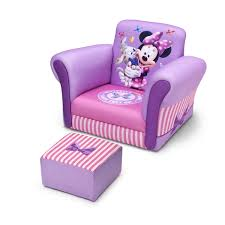 Minnie Mouse Chairs For Kids Minnie Mouse Sofa Chair And Ottoman Set Okaycreations Net