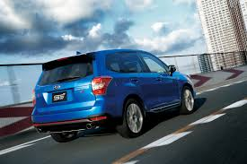subaru forester lowered subaru releases 280ps forester ts in japan only 300 will be made