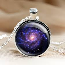 glass necklace pendant images Universe glass pendant necklace galaxy pendant photo pendants jpg