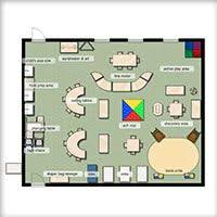 Preschool Floor Plans Kaplan Classroom Floorplan Edu104 Pinterest Teacher Supplies
